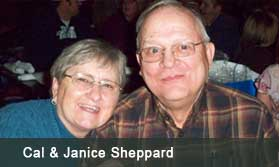 Cal and Janice Sheppard